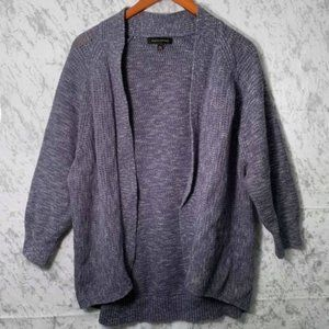 Banana Republic Cotton Knit Open Front Cardigan XL